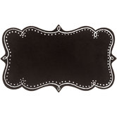 Ornate Chalkboard With Dotted Border